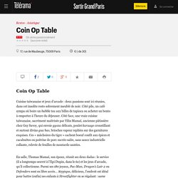 Coin Op Table 75009
