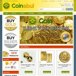 World's first Bitcoin-to-Gold service!