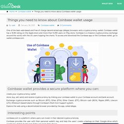 Coinbase wallet: Things to know about Coinbase