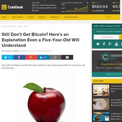 CoinDesk Still Don't Get Bitcoin? Here's an Explanation For Five-Year-Olds