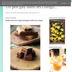 Pastila russe aux coings (meringue séchée aux coings)