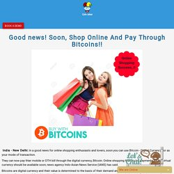 Buy With Bitcoins..!! Bitcoin Buy & Sell Exchange Script now offer !!