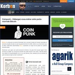 Coinpunk – Hébergez vous-même votre porte-monnaie Bitcoin