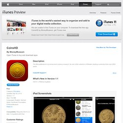 CoinsHD for iPad on the iTunes App Store