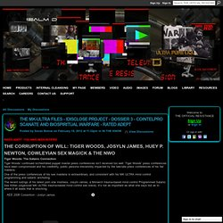 THE MK-ULTRA FILES - iDISCLOSE PROJECT - DOSSIER 3 - COINTELPRO SCANATE AND BIOSPIRITUAL WARFARE - RATED ADEPT