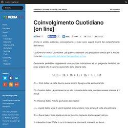 Coinvolgimento Quotidiano [on line] « Il Giornalaio