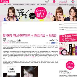 "Things From Diva ""Tutorial for graduation skin + hair + make"