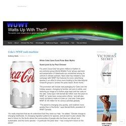 Coke's WWF cash machine
