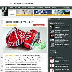 'Coke is goed voor u'