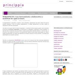 WIKISPACES: Una herramienta colaborativa y multitud de aplicaciones.