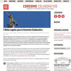 6 Retos Legales para la Economía Colaborativa