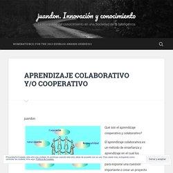 APRENDIZAJE COLABORATIVO Y/O COOPERATIVO