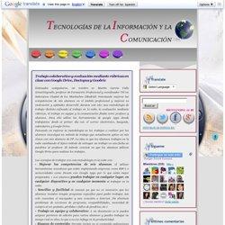 Trabajo colaborativo y evaluación mediante rúbricas en clase con Google Drive, Doctopus y Goobric