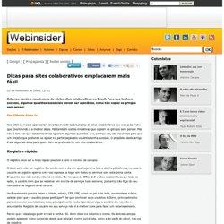 Dicas para sites colaborativos emplacarem mais fácil