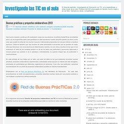 Buenas prácticas y proyectos colaborativos 2013
