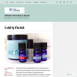 Cold & Flu Kit – Spark Naturals Blog