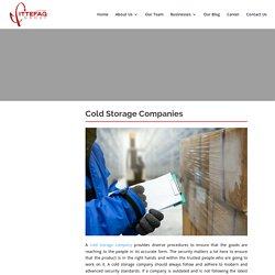 Cold Storage Companies