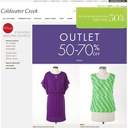 Coldwater Creek outlet