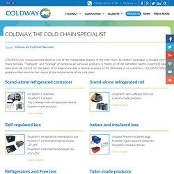 Produits - Coldway, spécialiste de la chaine du froid