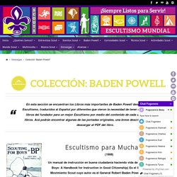 """Colección """"Baden Powell"""" – Fogón Virtual Scout"""