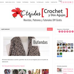 [Colección] Bufandas a Crochet