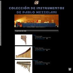 Colección de instrumentos