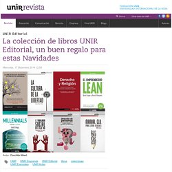 La colección de libros UNIR Editorial, un buen regalo para estas Navidades