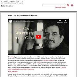 Colección de Gabriel García Márquez - Harry Ransom Center Digital Collections
