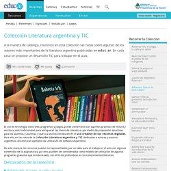 Colección Literatura argentina y TIC