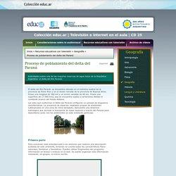 CD 25: Proceso de poblamiento del delta del Paraná