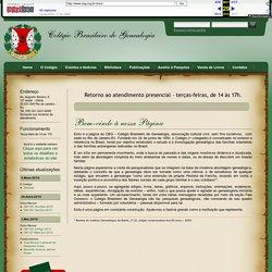 CBG Colégio Brasileiro de Genealogia