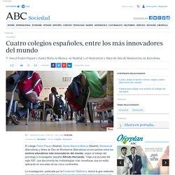 Cuatro colegios españoles, entre los más innovadores del mundo