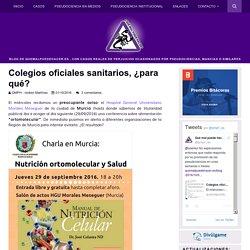 Colegios oficiales sanitarios, ¿para qué? - QMPH-Blog