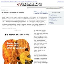 David Coleman's common core bullshit - Substance News