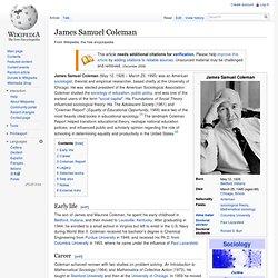 James Samuel Coleman