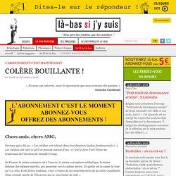COLÈRE BOUILLANTE