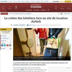La colère des hôteliers face au site de location Airbnb
