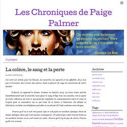 Les Chroniques de Paige Palmer
