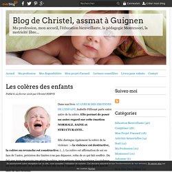 Les colères des enfants - Blog de Christel, assmat à Guignen