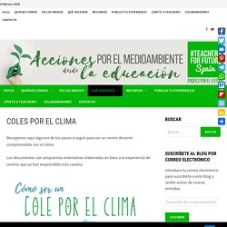 COLES POR EL CLIMA - Teachers For Future Spain
