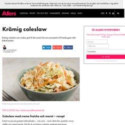 Coleslaw med creme fraiche och morot – recept