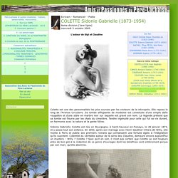 COLETTE Sidonie Gabrielle (1873-1954)