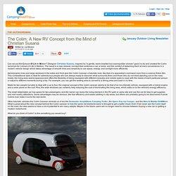 Colim Caravan, a New RV Concept