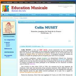 Colin MUSET ✷ Sir Cuens, j'ai viélé