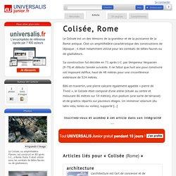 Colisée, Rome : Universalis Junior