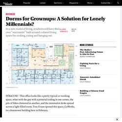 Coliving: A Solution for Lonely Millennials?