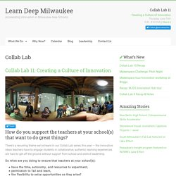 Learn Deep Milwaukee