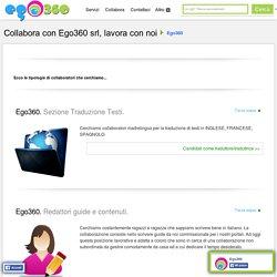 Collabora con Ego360 srl, lavora con noi Ego360