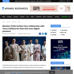 Blenders Pride Fashion Tour collaborates with Tarun Tahiliani for their first-ever digital premiere