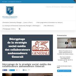 Décryptage de la stratégie social-média des collaborateurs ambassadeurs Generali